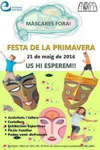 FestaPrimavera 2016 AMPA Escolàpies Sant Martí